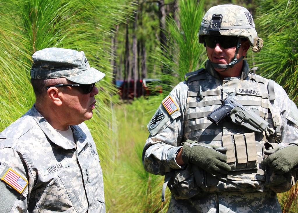 Lt  Gen  Ingram Visits Xctc