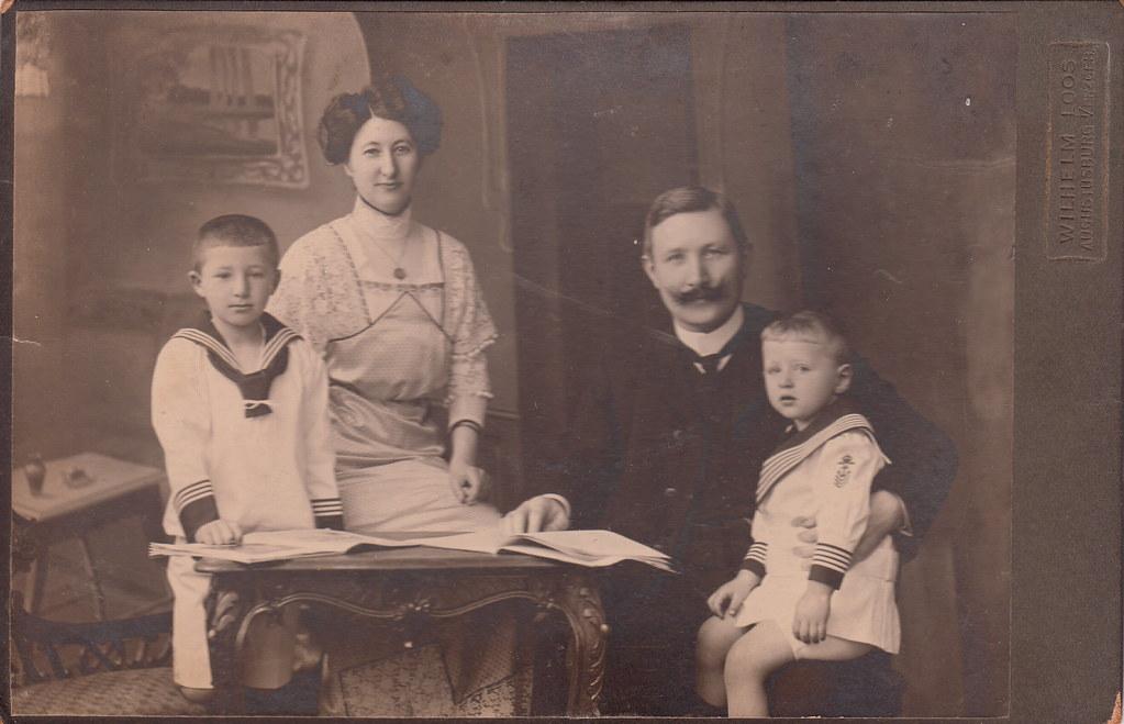 family portrait by wilhelm loos  c 1910