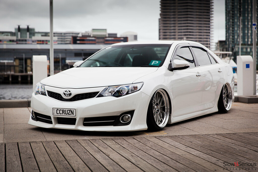 Slammed Camry More On Www Facebook Com Slownserious