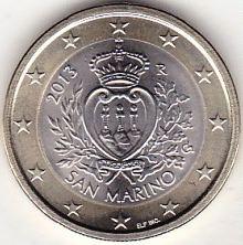 1 Euro San Marino 2013