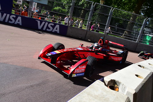 Jérôme D'Ambrosio, Dragon Racing, FIA Formula E Championship, London 2016