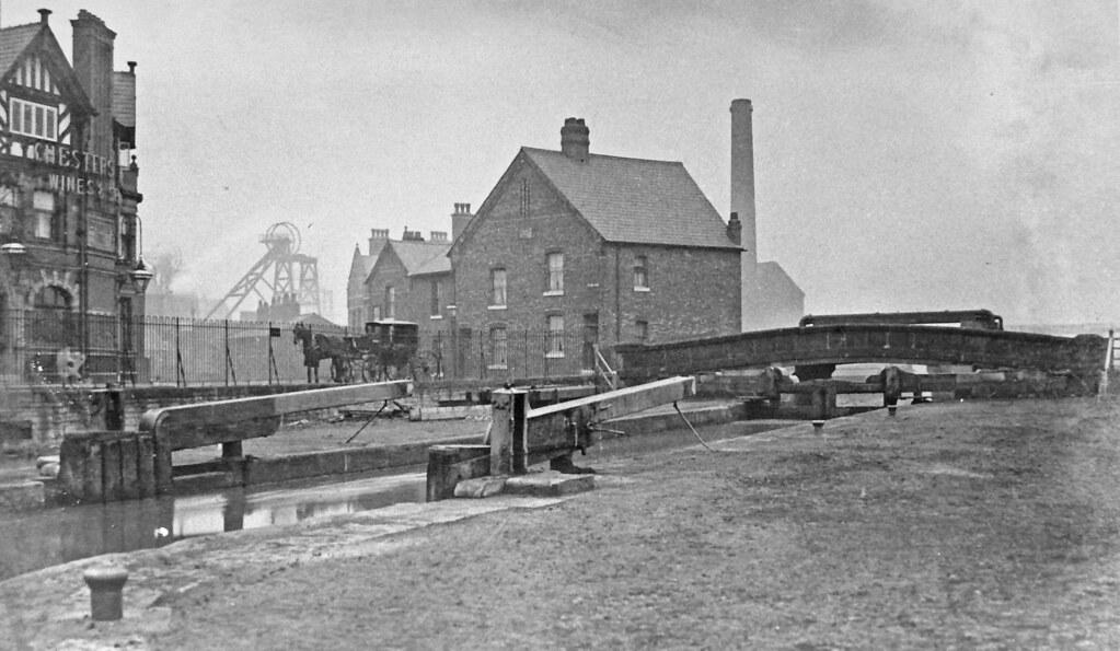 Bickershaw Colliery Leigh Lancashire Circa 1910