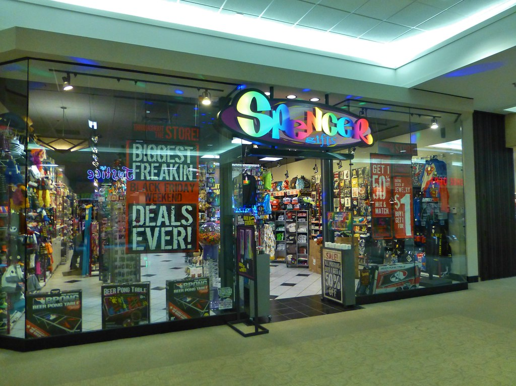 Spencers gift store