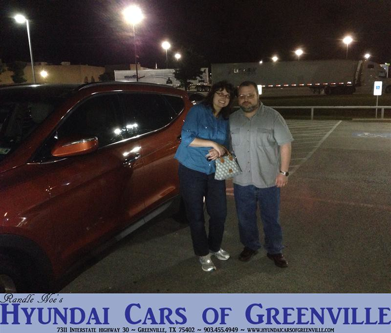 Hyundai Greenville Sc: Congratulations To Darrell Church On Your #Hyundai #SantaF