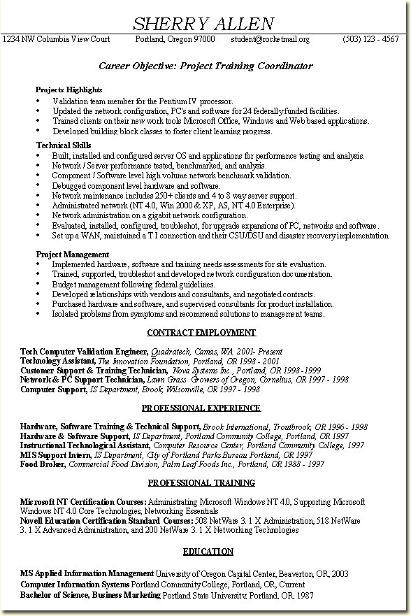 arlene albert page 1 of 2 2 resume templates hr coordinator