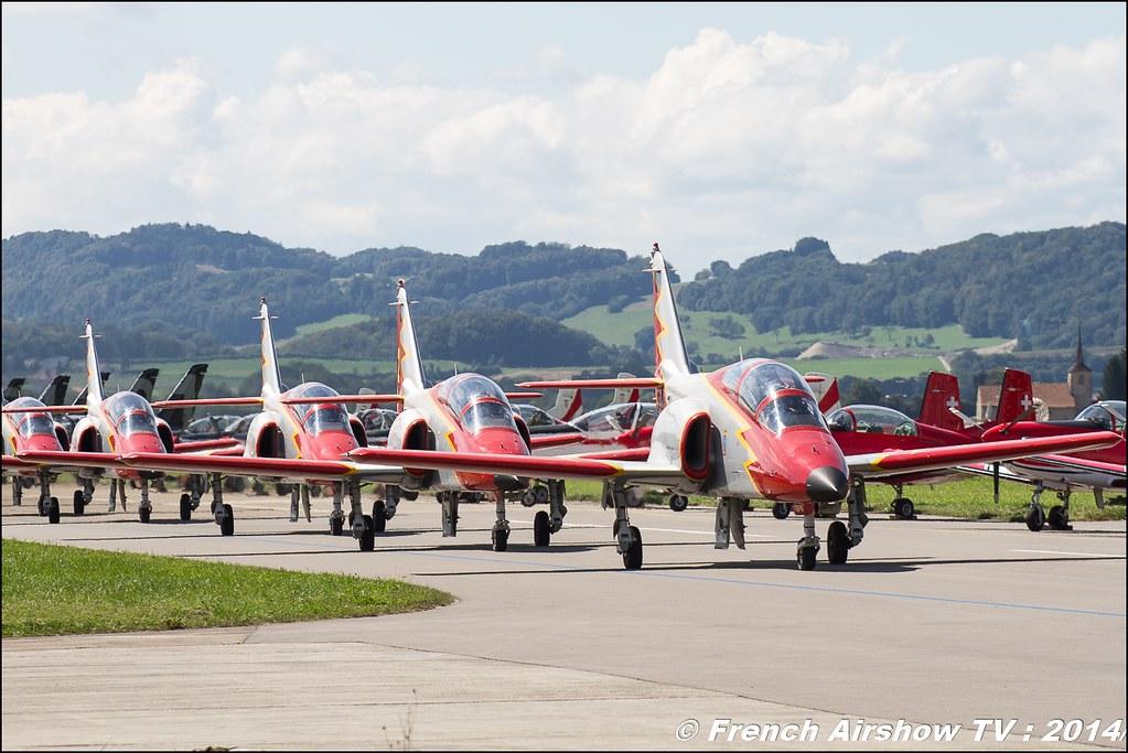 Patrulla Águila , Patrouille Aguila , CASA C-101 , Air14 Payerne 2014 , Meeting Aerien 2014