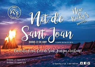 New Ricky's - Nit de Sant Joan