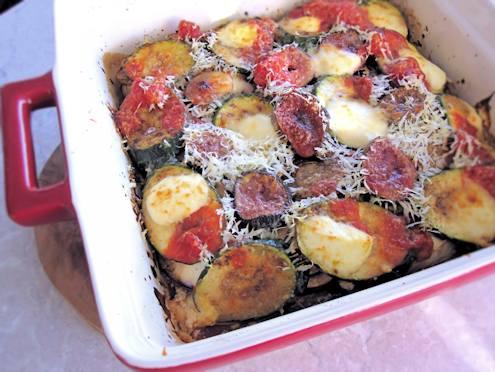 vegetable parmigiana