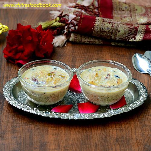 Sheer khurma - Ramadan recipes