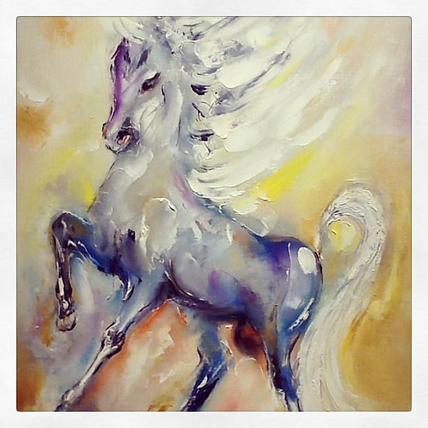 """DeGrazia's Wild Horses"" | Exhibit on display until ..."