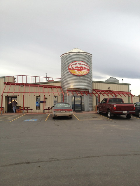 A photo of the entrance to the Wheat Montana Bakery and Deli