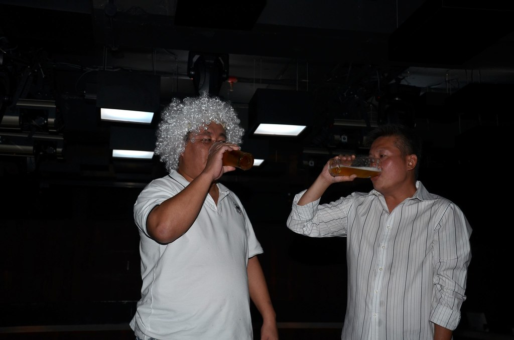 contest on best drinker...or biggest beer belly ...