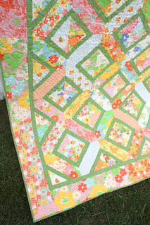 amy-smart-double-crossed-summer-quilt | by amy smart