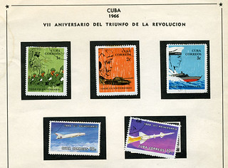 Cuban space stamps