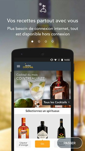 appli atelier cocktail