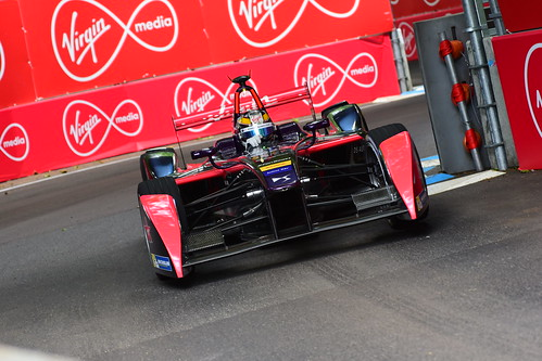 Jean-Eric Vergne, DS Virgin Racing Formula E Team, FIA Formula E Championship, London 2016