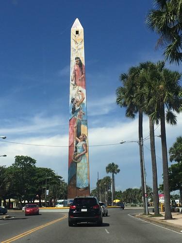 Obelisk @ Santo Domingo