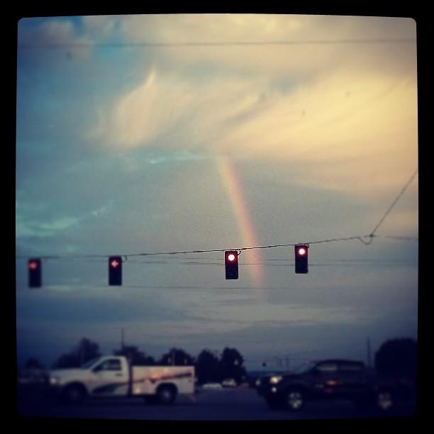 Good Morning Vietnam Z Rainbow : Good morning to you too luckyday rainbow sunrise flickr