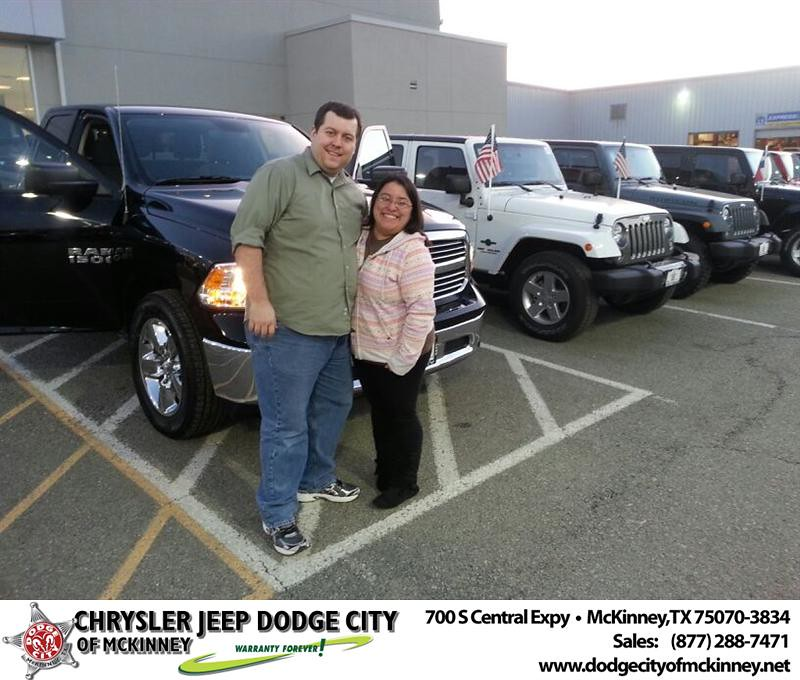 Dodge City Of Mckinney >> Thank you to Justin Jacksn on your new 2014 #Ram #1500 fro… | Flickr