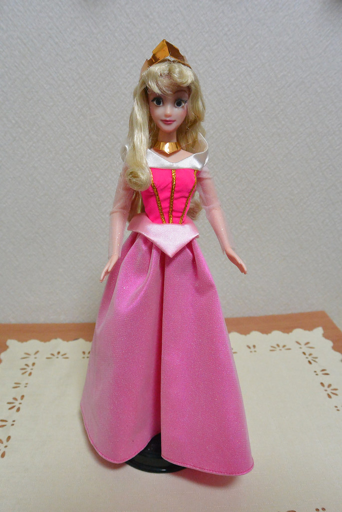 Princess Aurora Doll Disney Princess Aurora Ooak Doll