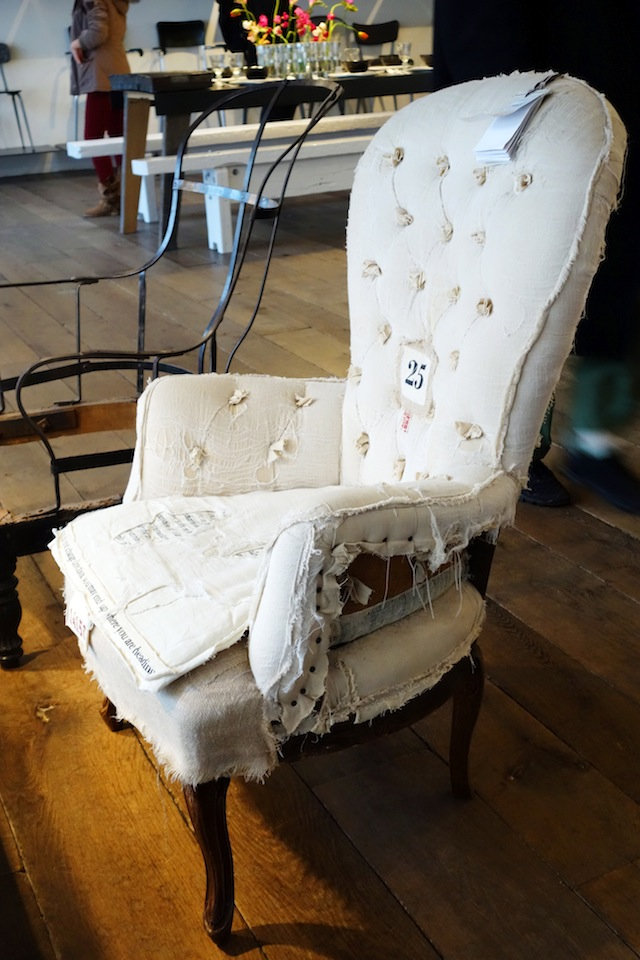 Merci Paris antique armchair