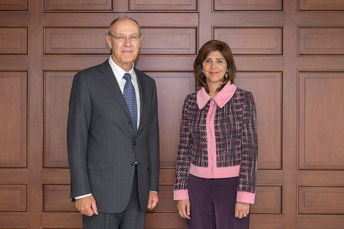 WIPO Director General Meets Colombia's Foreign Minister | by WIPO | OMPI
