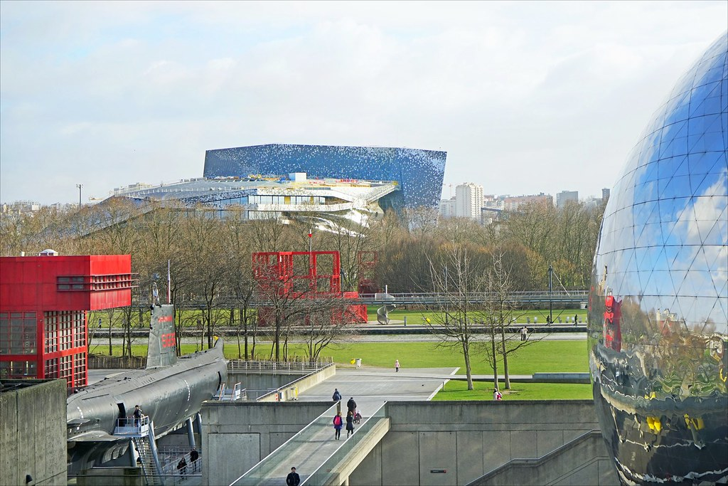 Le Parc De La Villette  Paris