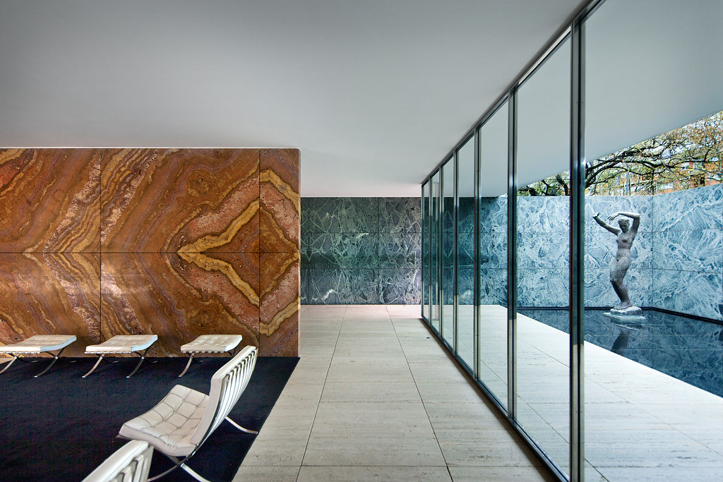 barcelona pavilion barcelona spain mies van der rohe flickr. Black Bedroom Furniture Sets. Home Design Ideas