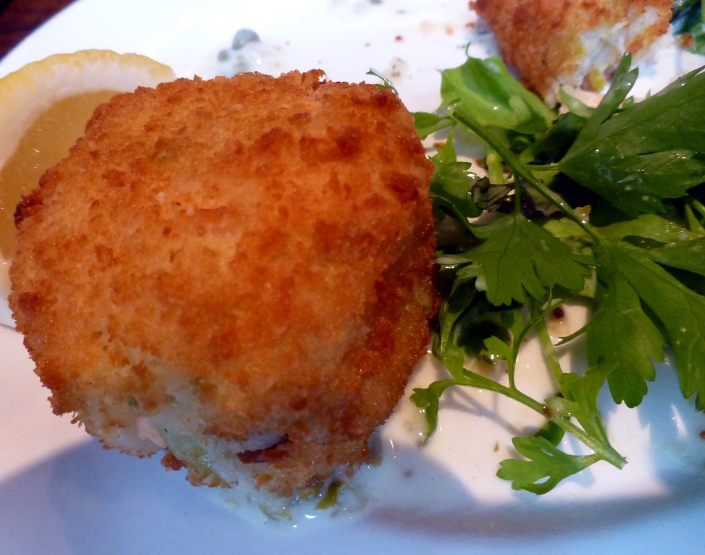 Fish Cakes w. tartare sauce @ Jacques Restaurant Cork | Flickr