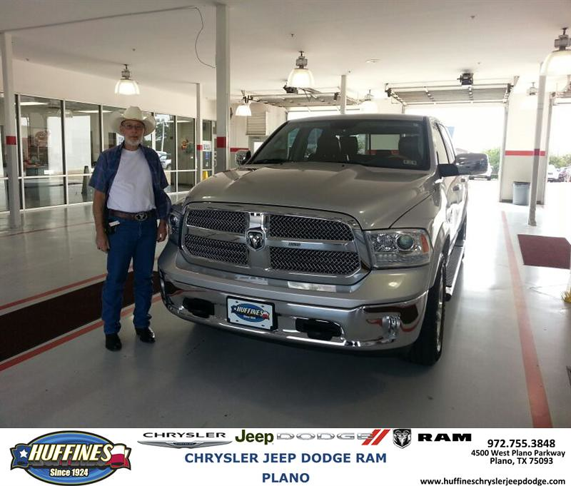 Plano Dodge: Thank You To John Keen On Your New 2013 Ram 1500 From Bill