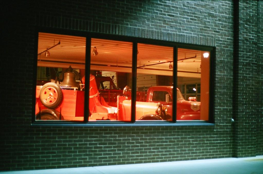Eureka Nevada Fire Station | Window of the Eureka Nevada ...