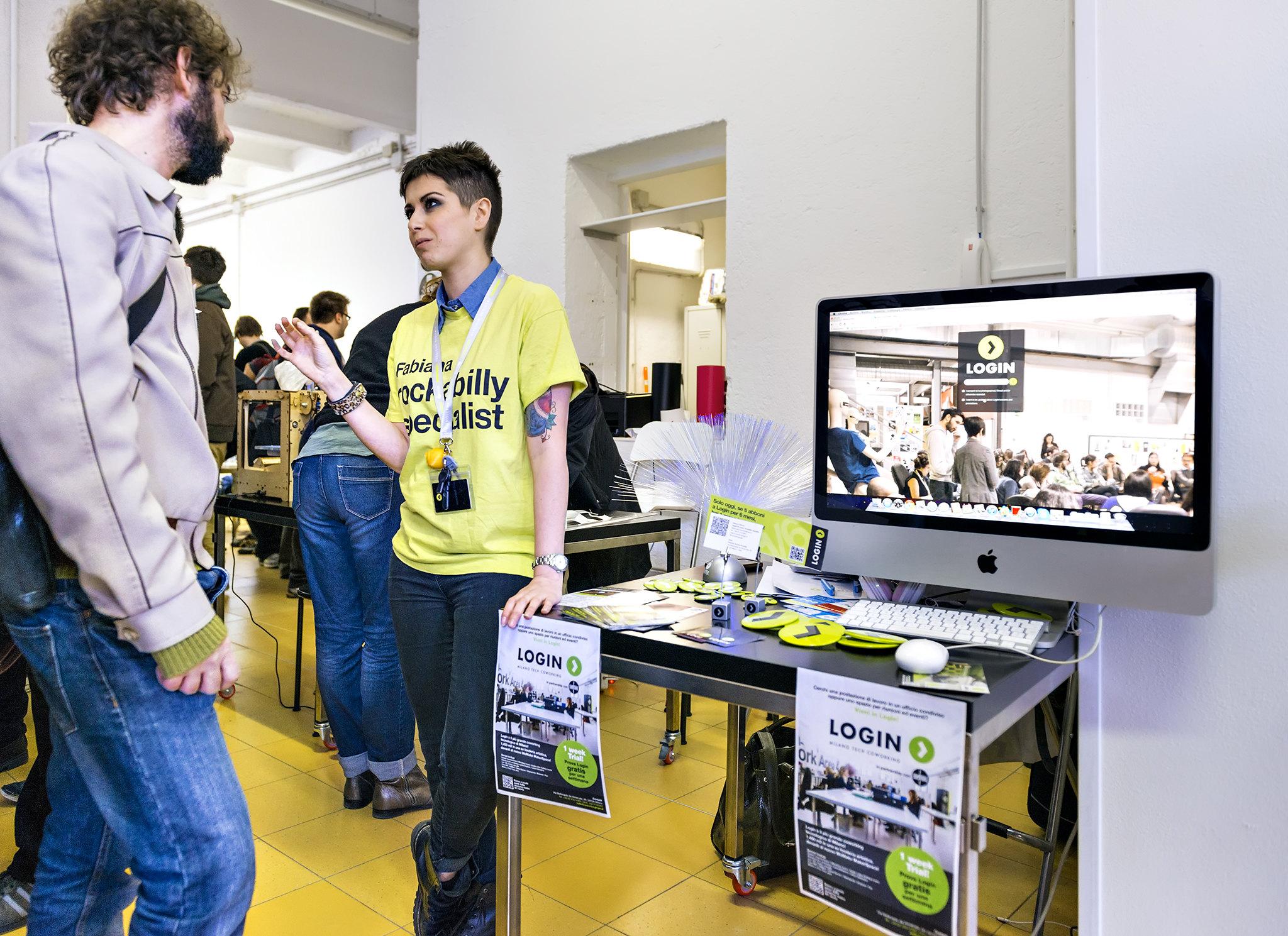 Login & WeMake Arduino Day 2014