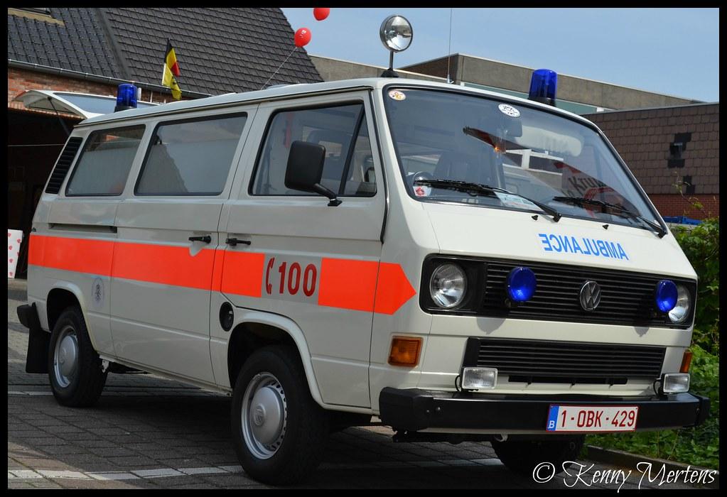Brandweer Brussel Ambulance Oldtimer Ambulance