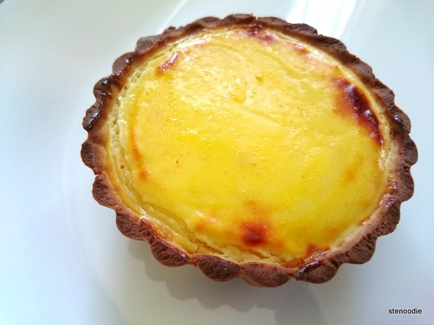 Twice-Baked Rare Cheese Tart