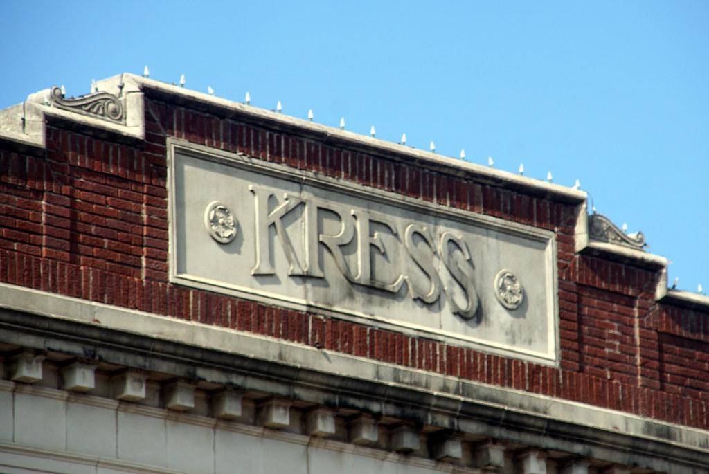 Kress Sign Ardmore Oklahoma Robert E Weston Jr Flickr
