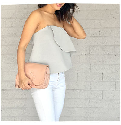 Keepsake Strapless Top from Revolve