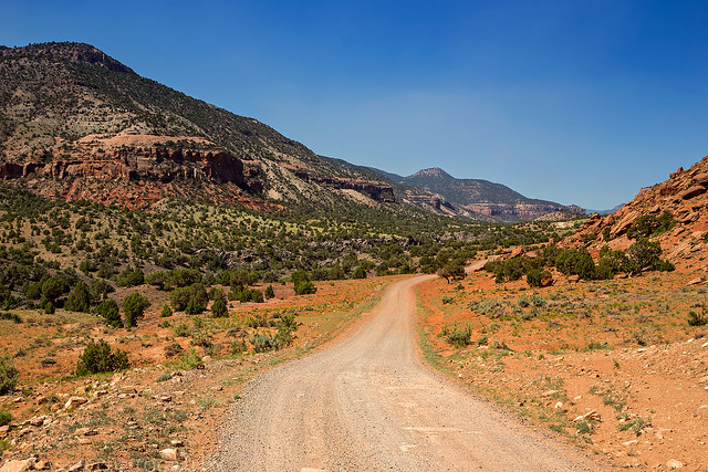 Escalante Canyon Road