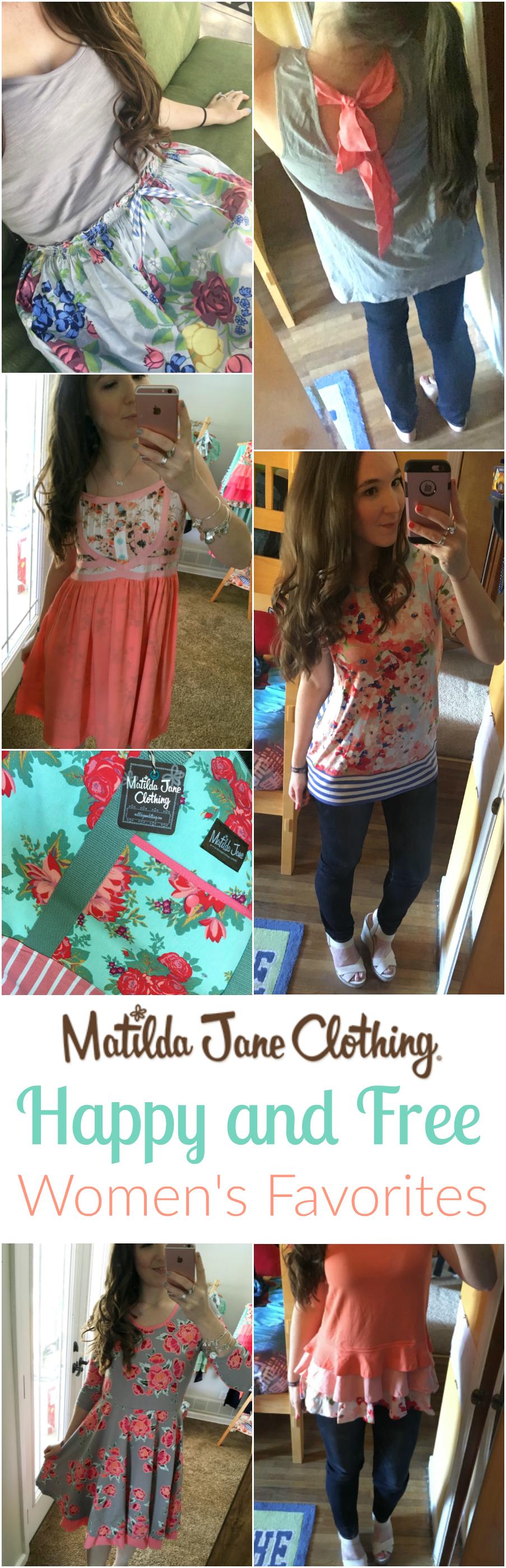 Matilda Jane Clothing Happy and Free Women's Favorites