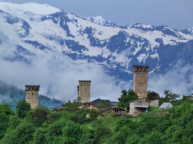 Mestia (Svaneti, Georgia)