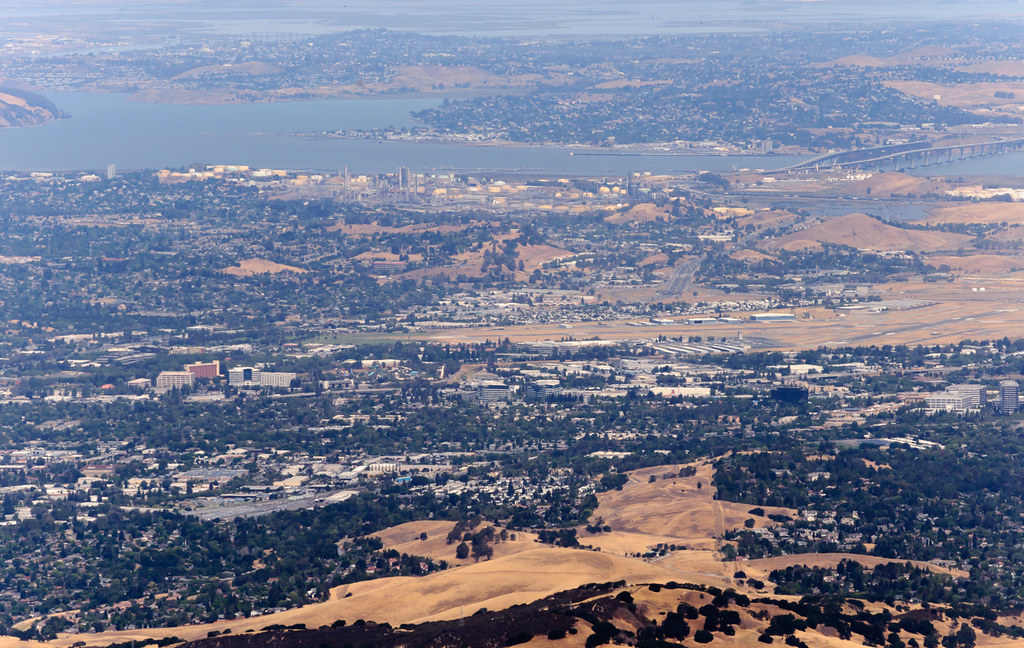 Concord from Mt. Diablo summit   One of the best vista ...