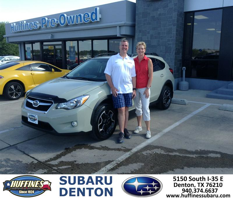 Thank You To Sabra Hook On The 2013 Subaru Xv Crosstrek Fr