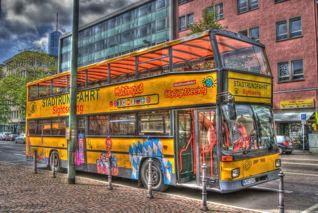 hdr frankfurt city tour bus max flickr. Black Bedroom Furniture Sets. Home Design Ideas