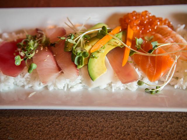 Raku japanese fusion cuisine flickr photo sharing for Aura world fusion cuisine