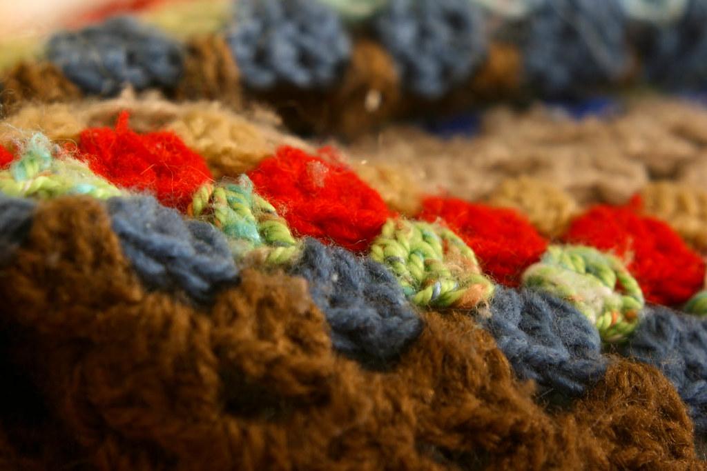 Texturas lana plano detalle de una manta de lana de for Mantas de lana de colores
