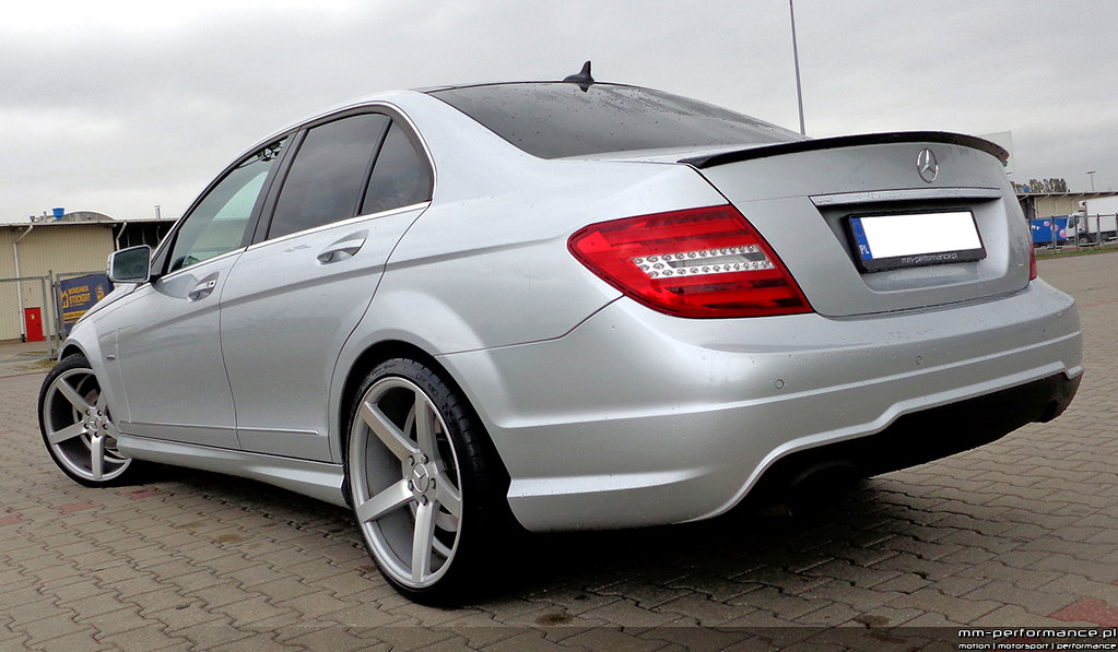 Mb Mercedes Benz W204 C200 Felgi Vossen Cv3 19 Cali Sprezy
