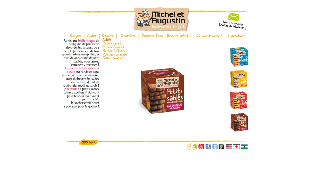 Michel Et Augustin Milk Chocolate And Melted Caramel