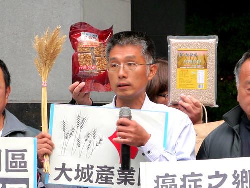 在當地推動小麥種植的林世勳