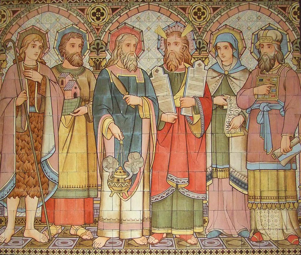 abel noah abraham moses miriam aaron all saints