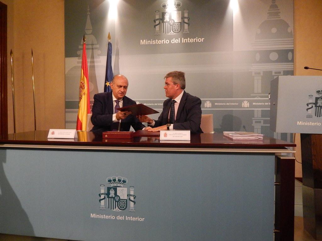 El ministerio del interior y el ayuntamiento de ja n suscr for El ministerio del interior