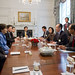World Bank Group President Jim Yong Kim meets with Korean President, Park Geun-hye